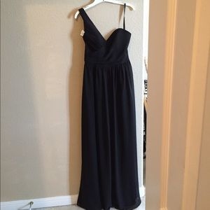 Alfred Angelo black formal gown